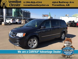 2014 Dodge Grand Caravan Crew, Heated Seats, Heated Steerinrg Wheel, Nav, Remote Start, Back-up Cam Minivan