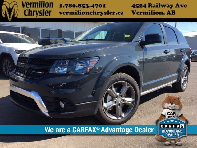 DYNAMIC_PREF_LABEL_INDEX_INVENTORY_FEATURED1_ALTATTRIBUTEBEFORE 2017 Dodge Journey Crossroad AWD, Heated Leather, NAV, DVD, 7 Passeng SUV
