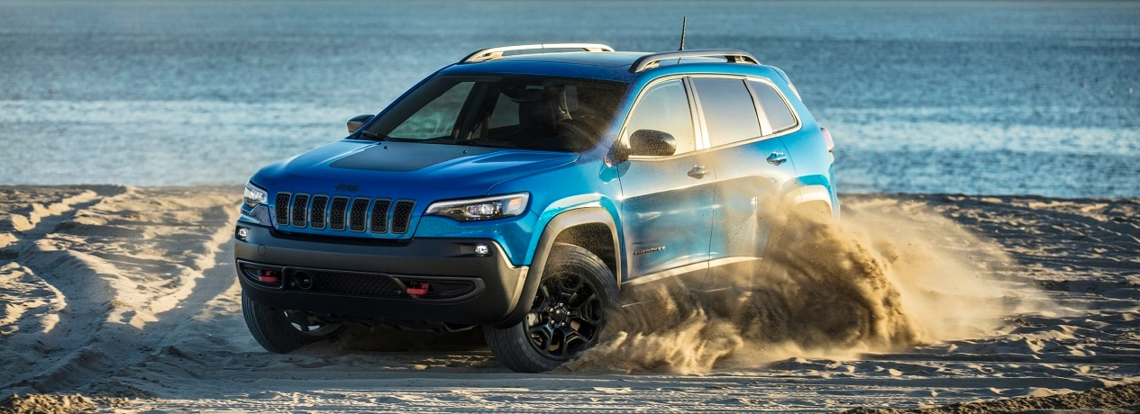 2021 Jeep Cherokee Trailhawk For Sale at Vermilion Chrysler Dealer