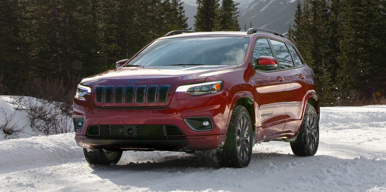 2020 Jeep Cherokee In Red