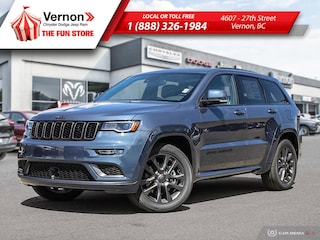 2019 Jeep Grand Cherokee HIGH ALTITUDE 4X4|HeatLeatherSeat/Wheel|AppleAndro SUV