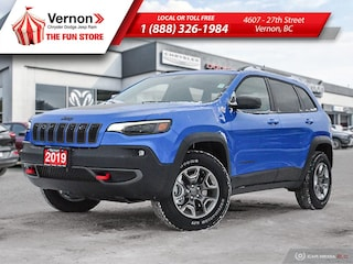 2019 Jeep New Cherokee TRAILHAWK ELITE 4X4|HeatLeatherSeat/Wheel|Sunroof SUV