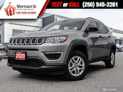 2020 Jeep Compass SPORT 4X4|BackUpCam|AppleAndroid|MediaHub SUV
