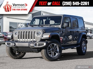2020 Jeep Wrangler UNLIMITED SAHARA 4X4 HeatLeatherSeat/Wheel SUV