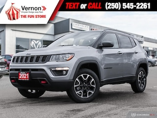 2021 Jeep Compass Trailhawk 4X4 HEATSEATWHEEL-BACKUPCAM-APPLEANDROID SUV