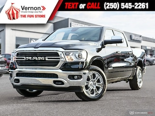2019 Ram All-New 1500 Big Horn 4X4 APPLEANDROID-BACKUPCAM-TOUCH Truck Crew Cab