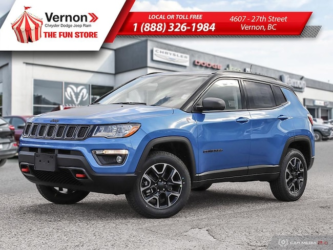 2019 Jeep Compass TRAILHAWK 4X4|Panoroof|HeatSeat/Wheel|AppleAndroid SUV
