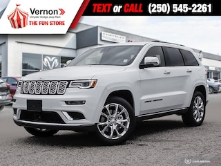 2021 Jeep Grand Cherokee Summit 4X4 QUADRADRIVE-BACKUPCAM-LEATHERSEAT SUV