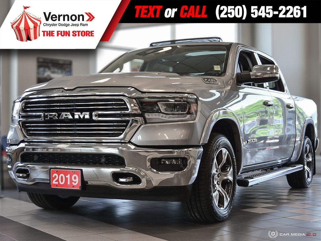 2019 Ram All-New 1500 Laramie 4X4 **GROUNDED DEMO BLOWOUT** Truck Crew Cab