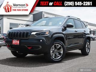2019 Jeep New Cherokee TRAILHAWK 4X4|HeatLeatherSeat/Wheel|BackUpCam SUV