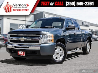 2011 Chevrolet Silverado 1500 LT 4X4 NOACCIDENT-RELIABLE-BCVEHICLE Truck Extended Cab