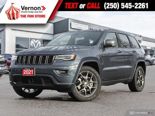 2021 Jeep Grand Cherokee 80thAnnivEd 4X4 HEATED-PANOROOF-BACKUPCAM 4x4 Sport Utility