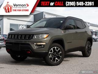 2021 Jeep Compass Trailhawk 4X4 HEATSEATWHEEL-BACKUPCAM-APPLEANDROID SUV