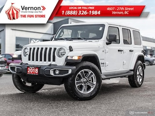 2018 Jeep All-New Wrangler UNLIMITED SAHARA 4X4|BackUpCam|Touch|AppleAndroid SUV