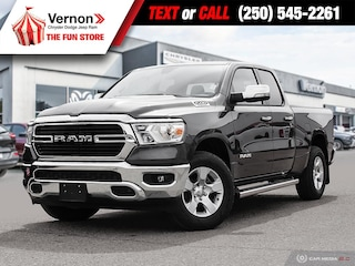 2020 Ram 1500 Big Horn Quad Cab 4X4 BACKUPCAMERA-BLUETOOTH Truck Quad Cab