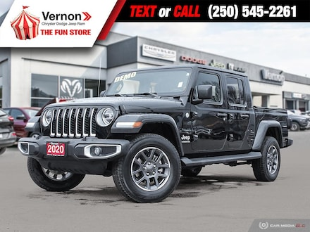 2020 Jeep Gladiator Overland 4X4 HEATLEATHER-APPLEANDROID-TOUCH Truck Crew Cab