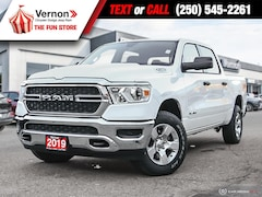 2019 Ram All-New 1500 SXT 4X4|BackUpCam|Touch|SatRadio|Bluetooth Truck Crew Cab