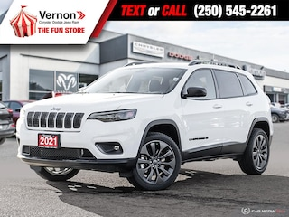 2021 Jeep Cherokee 80thAnniv 4X4 HEATLEATHER-BACKUPCAM-APPLEANDROID 4x4 Sport Utility