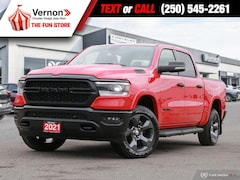 2021 Ram 1500 Built-To-Serve | 4X4, Heated Seat/Wheel, Apple/And 4x4 Crew Cab 144.5 in. WB
