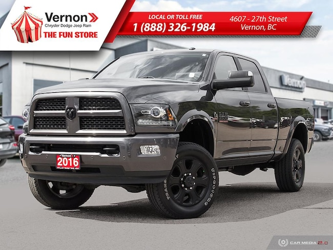 2016 Ram 3500 LARAMIE 4X4|HeatLeatherSeat/Wheel|BackUpCam|Touch| Truck Crew Cab