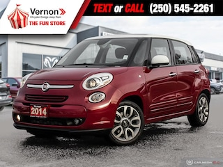 2014 FIAT 500L MANUAL-LOWKM-PANOROOF-STEREO-POWERLOCK/WINDOW Hatchback