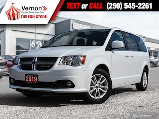 2019 Dodge Grand Caravan PREMIUM PLUS BackUpCam|BT|DVD|Touch|HDD Van
