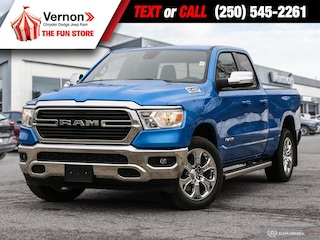 2021 Ram 1500 Big Horn 4X4 BACKUPCAM-APPLEANDROID-BLUETOOTH 4x4 Quad Cab 140.5 in. WB