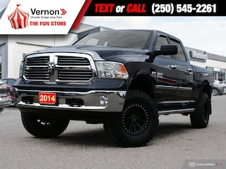 2014 Ram 1500 BIGHORN 4X4|Sunroof|Touch|MediaHub|LuxuryGroup Truck Crew Cab