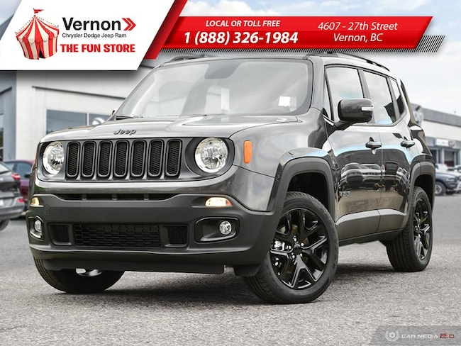 2018 Jeep Renegade ALTITUDE 4X4|BackUpCam|AppleAndroid|BeatsAudio|BT SUV