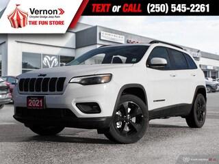 2021 Jeep Cherokee Altitude 4X4 HEATLEATHER-PANOROOF-BACKUPCAM-BT 4x4