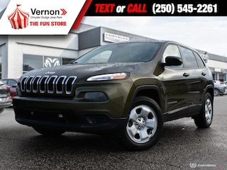 2015 Jeep Cherokee Sport 4X4 NOACCIDENT-BCVEHICLE-TOUCH-BLUETOOTH SUV