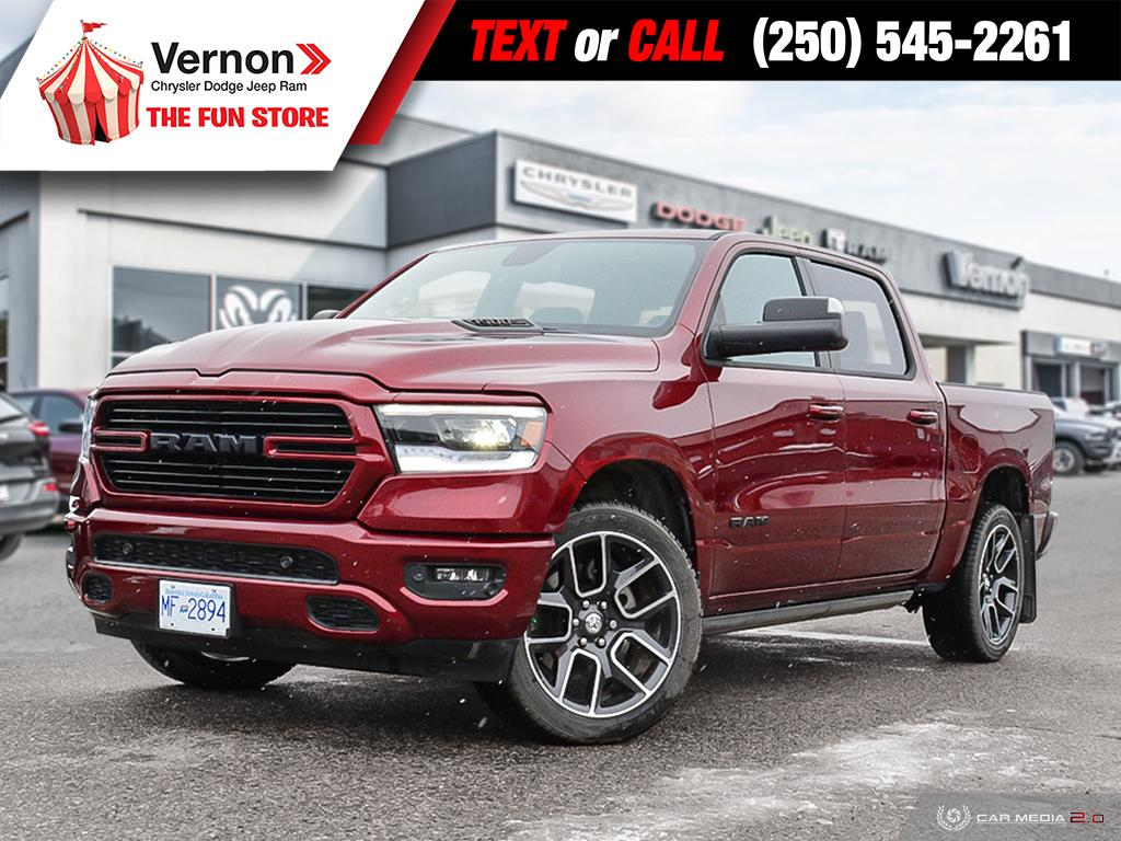 2019 Ram All-New 1500 SPORT HeatSeat/Wheel|Panoroof|AppleAndroid|Touch Truck Crew Cab
