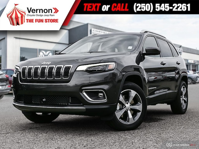 2019 Jeep New Cherokee LIMITED 4X4|HeatLeatherSeat/Wheel|Panoroof|AppleAndroid SUV