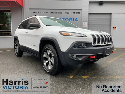 2018 Jeep Cherokee Trailhawk One Owner SUV