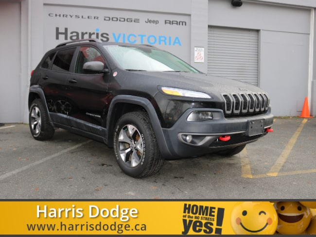 2017 Jeep Cherokee Trailhawk, Accident free SUV