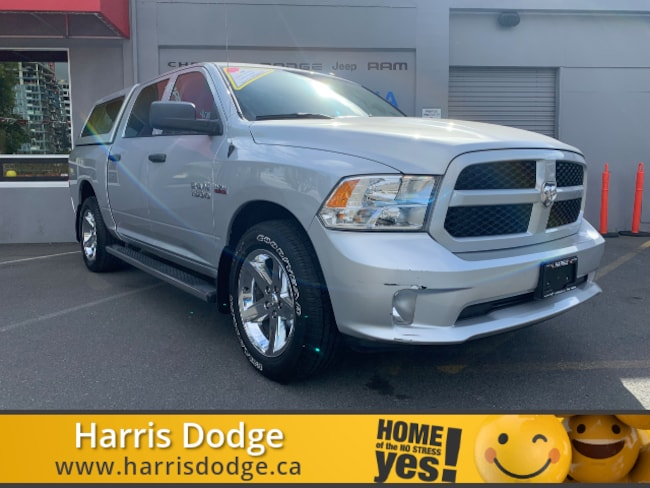 2018 Dodge RAM Express with Canopy Crew Cab