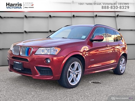 2013 BMW X3 xDrive35i with Navigation  SUV for sale in Victoria, BC