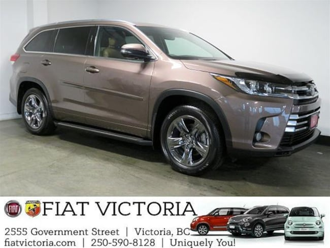 2017 Toyota Highlander Limited AWD Low KMs