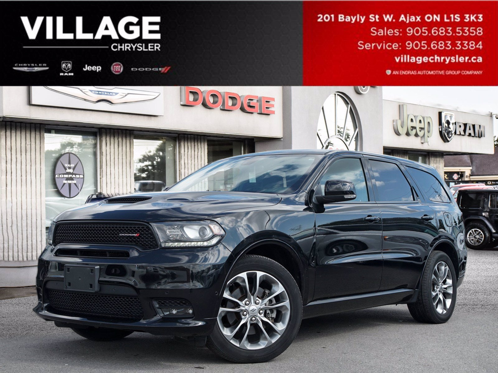 Used 2019 Dodge Durango For Sale At Village Chrysler Dodge Jeep Ram Fiat Vin 1c4sdjct0kc756079