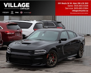 2017 Dodge Charger SRT Hellcat Accident Free One Owner Sedan