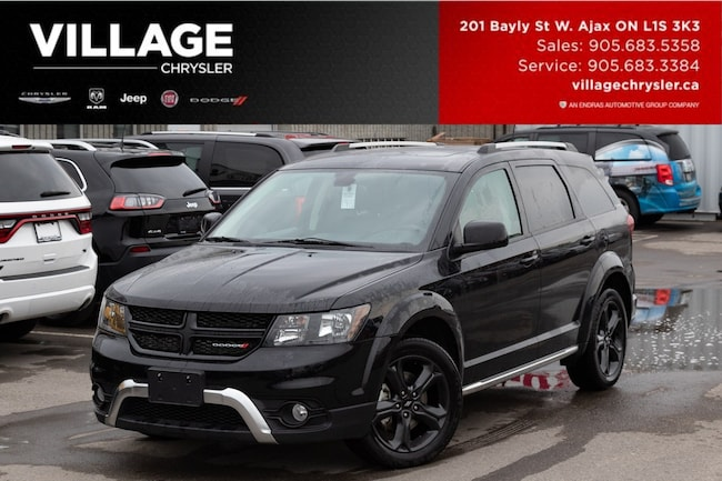 2018 Dodge Journey Crossroad AWD Nav DVD Sunroof 7 Pass SUV