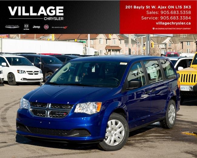 2019 Dodge Grand Caravan Canada Value Package Backup Cam Van Passenger Van