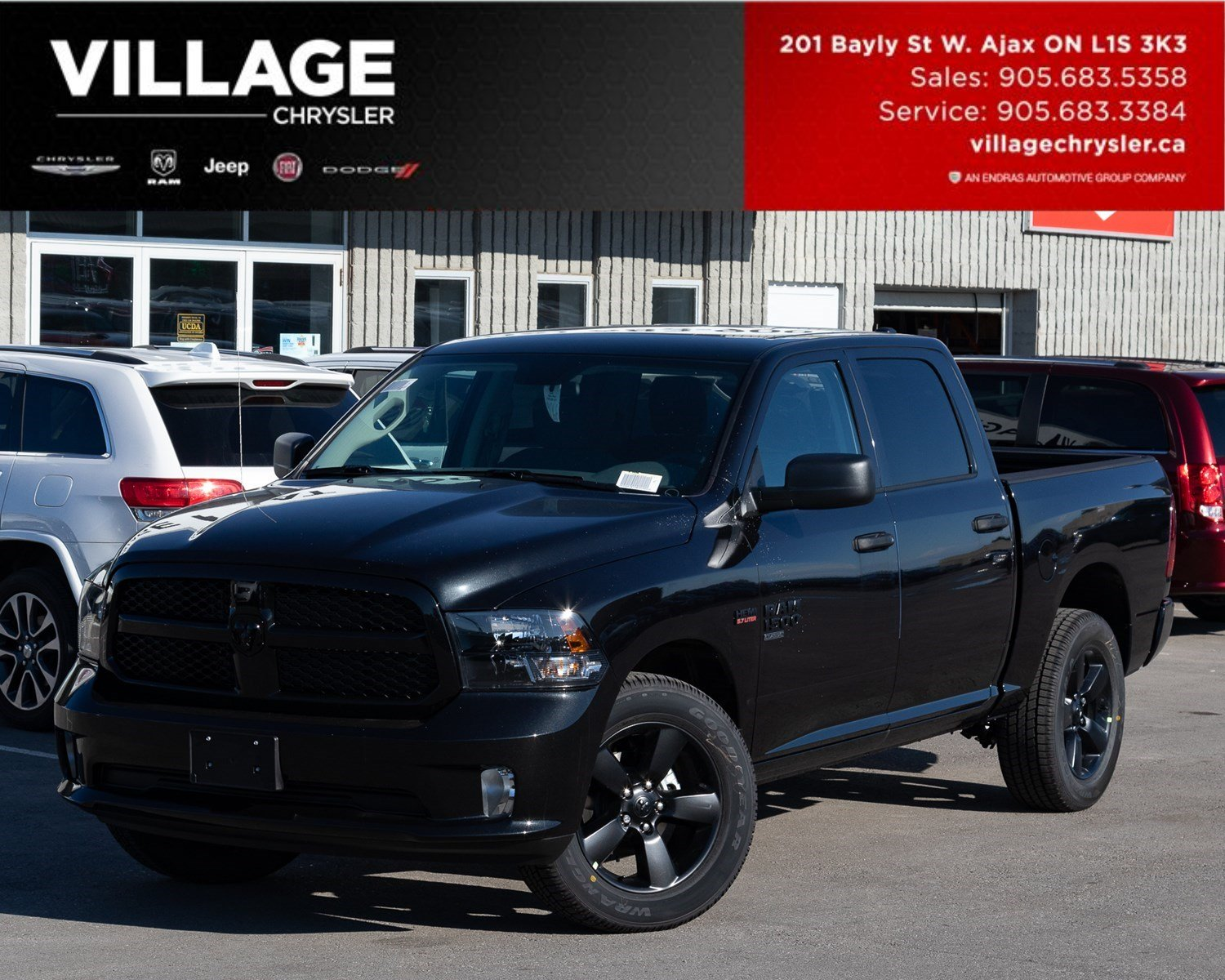 2019 Ram 1500 Classic Express|4x4|Crew|Backup Cam|Bluetooth Camion cabine Crew
