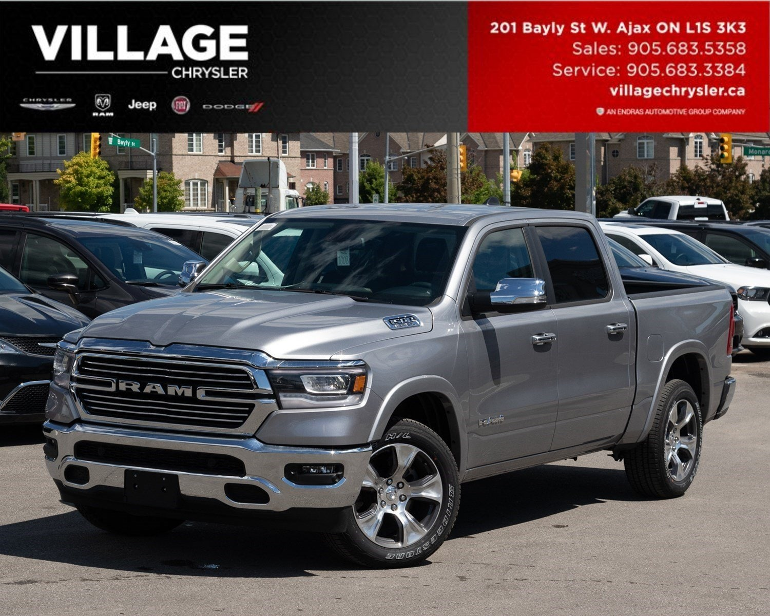 2019 Ram All-New 1500 Laramie|4x4|Nav|Level 1Equip Grp Camion cabine Crew