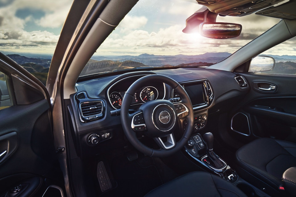 2020 Jeep Compass Interior At Village Chrysler Dodge