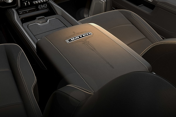 2020 Ram 2500 Interior Leather Console Inside Limited Edition