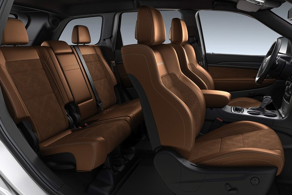 2020 Jeep Grand Cherokee Interior With Brown Seats