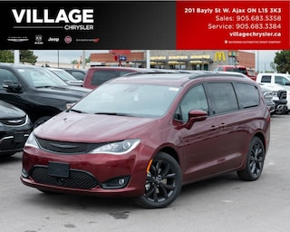 2019 Chrysler Pacifica Limited|S|Nav|DVD|Pan-Suroof|Advan Safety Van Passenger Van