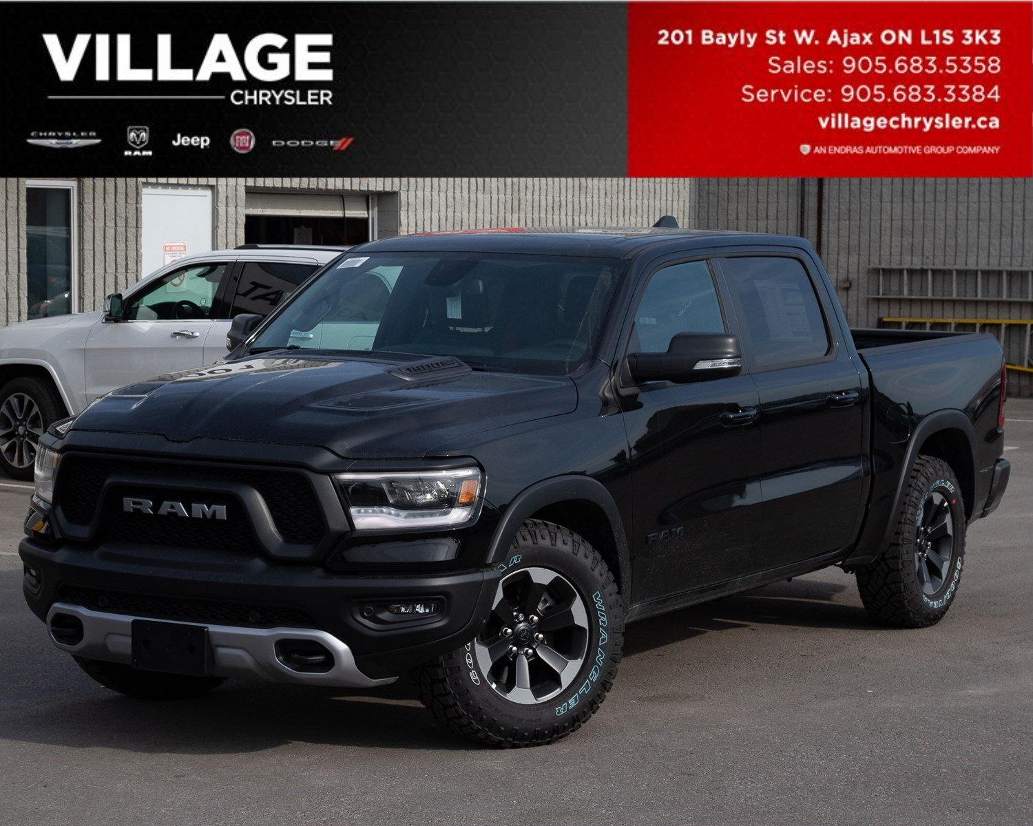 2019 Ram All-New 1500 Rebel|Rebel Lev 2|PanSunroof|3.92 Truck Crew Cab