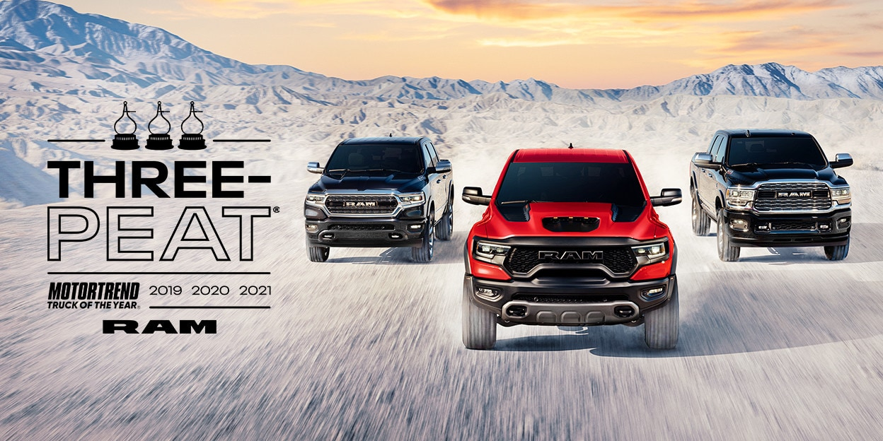 2021 Ram 1500 MotorTrend Truck Of The Year | Three-Peat